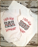 Lil or Big Brother Tshirt or Onesie