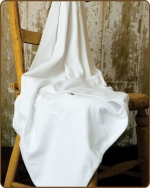 White Knit Blanket