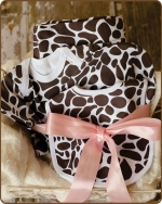 Giraffe Knit Layette Gift set