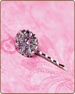 Emma Bobby Pin in Light Pink