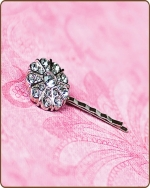 Emma Bobby Pin in Clear