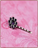 Ashlynn Bobby Pin in Purple