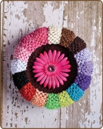 Crochet Headbands 2.5 inch
