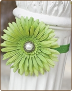 Artichoke Flower Fold Over Elastic Headband