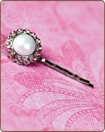 Amelia Bobby Pin in Light Pink