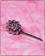 Aybreonn Bobby Pin in Hot Pink
