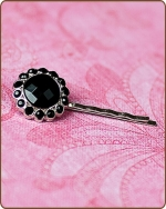 Kayli Bobby Pin in Black