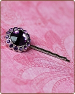 Kayli Bobby Pin in Dark Purple