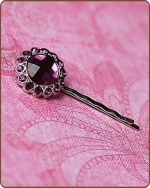 Kayli Bobby Pin in Fuchsia