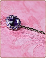 Kayli Bobby Pin in Purple