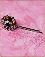 Kayli Bobby Pin in Ruby Red