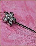 Kendall Bobby Pin in Clear