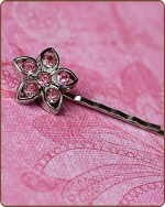 Kendall Bobby Pin in Light Pink