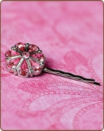 Rylie Bobby Pin in Light Pink