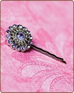 Chloe Bobby Pin in Lavender
