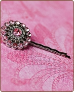 Chloe Bobby Pin in Lt. Pink