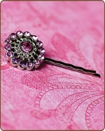 Chloe Bobby Pin in Pink