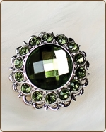 Kayli Filigree Ring in Artichoke