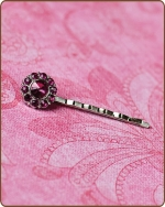 Ittybitty Lauren Bobby Pin in Fuchsia