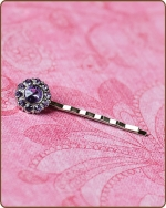 Ittybitty Lauren Bobby Pin in Lavender