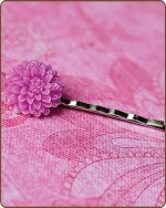 Madeline Bobby Pin in Purple