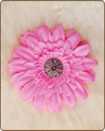 Daisy Flower Clippie Passion Pink