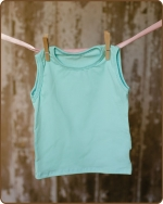 Blue Sleeveless Tshirt