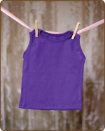 Purple Sleeveless Tshirt