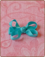 Baby Bow Turquoise