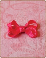 Baby Bow Shocking Pink