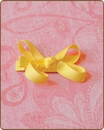 Baby Bow Yellow