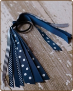Pony O Streamer Navy
