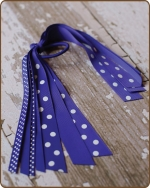 Pony O Streamer Royal Blue