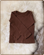 Brown Long Sleeve Tshirt