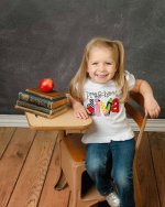 Preschool Diva Embroidered Shirt