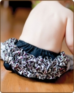 Purple Leopard Bloomers