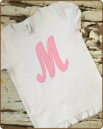 Applique Monogram - Tshirt