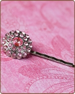 Naomi Bobby Pin in Light Pink