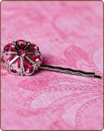 Rylie Bobby Pin in Hot Pink