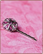 Rylie Bobby Pin in Pink