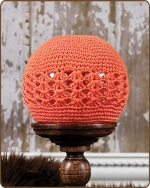 Crochet Beanie Orange