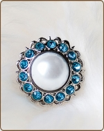 Amelia Filigree Ring in Turquoise