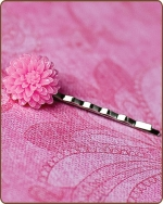 Madeline Bobby Pin in Lt. Pink