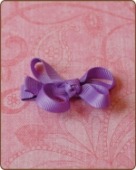 Baby Bow Purple
