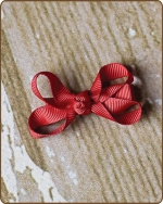 Baby Bow Red