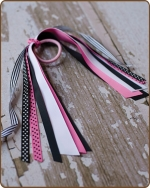 Pony O Streamer Hot Pink Ladybug