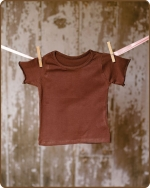 Brown Short Sleeve Tshirt