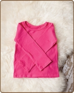 Hot Pink Long Sleeve Tshirt