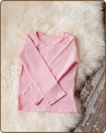 Lt. Pink Long Sleeve Tshirt